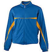 Augusta Adult Two-Color Brushed Tricot Jacket