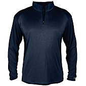 Badger Men's Pro Heather Sport 1/4 Zip Pullover