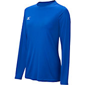 Mizuno Women's Long Sleeve Hybrid Shirt