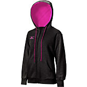 Mizuno Women's Fleece Full-Zip Hoodie