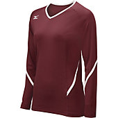 Mizuno Women's Techno Generation Longsleeve Volleyball Jersey