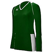 Mizuno Women's Classic Kailua Long-Sleeve Volleyball Jersey