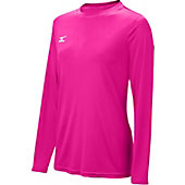 Mizuno Girl's Long Sleeve Hybrid Shirt