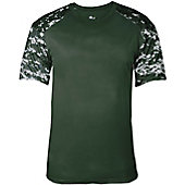 Badger Men's Digital Camo Fitted Sport Shirt