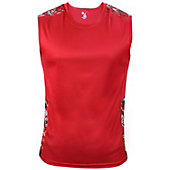 Badger Men's Digital Fitted Sleeveless T-Shirt