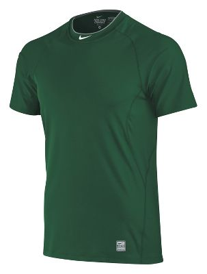 Nike Mens Pro Combat Fitted Short Sleeve Shirt