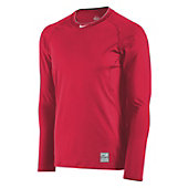 Nike Men's Pro Combat Fitted Long Sleeve Shirt
