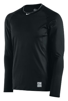 Nike Men's Pro Combat Fitted Long Sleeve Shirt 456174BW2XL