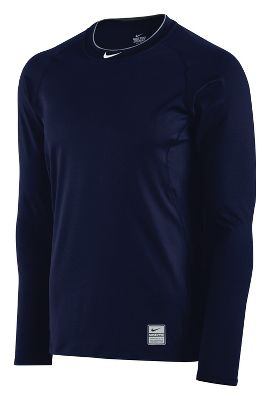 Nike Mens Pro Combat Fitted Long Sleeve Shirt