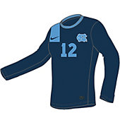 Nike DQT Men's Custom Long-Sleeve Soccer Game Jersey 12