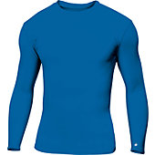 BADGER 14U PRO COMPRESSION L/S CREW