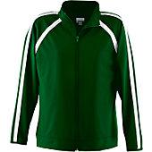 Augusta Ladies Dark Green Elite Warm-Up Jacket