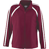 Augusta Ladies Maroon Elite Warm-Up Jacket