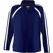 Augusta Ladies Navy Elite Warm-Up Jacket