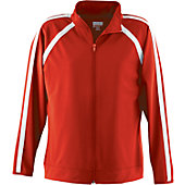 Augusta Girls Red Elite Warm-Up Jacket
