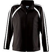 Augusta Girls Black Elite Warm-Up Jacket