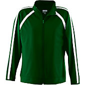 Augusta Girls Dark Green Elite Warm-Up Jacket