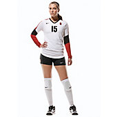 Nike DQT Women's Court Raider Long-Sleeve Custom Volleyball Jersey