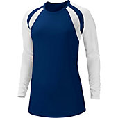 Nike Women's Court Warrior Long Sleeve Volleyball Jersey