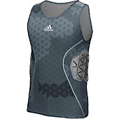 Adidas Men's Techfit Ironskin 3 Pad Tank Padded Shirt