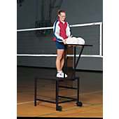 Blazer Volleyball Spike/Set Stand with Ball Rack and Wheel K