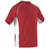 Alleson Youth Crew Neck Baseball Jersey