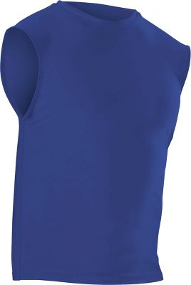 Alleson Men's Compression Sleeveless Jersey