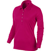 Nike Women's Victory Long Sleeve Golf Polo
