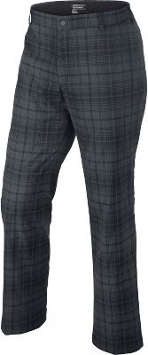 Nike Men's Plaid Golf Pant 509741BLK32/30