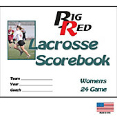 Blazer Athletic Womens Lacrosse Scorebook
