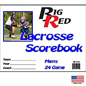 Blazer Athletic Mens Lacrosse Scorebook