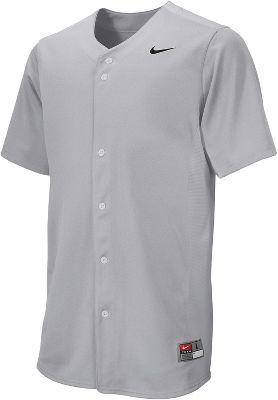 Nike Men's Full-Button Vapor Baseball Jersey