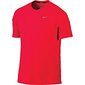 Nike Mens Miler Short Sleeve Crew Shirt