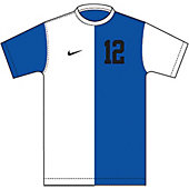 Nike DQT Boy's Custom Short-Sleeve Soccer Game Jersey 13