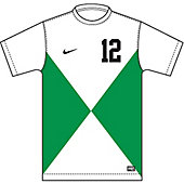 Nike Boy's Custom Team ID Short-Sleeve Soccer Game Jersey 13