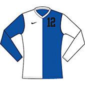 Nike DQT Boy's Custom Long-Sleeve Soccer Game Jersey 13