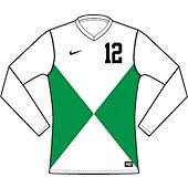 Nike Men's Custom Team ID Long-Sleeve Soccer Game Jersey 13