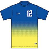 Nike Short-Sleeve Team ID Girl's Custom Soccer Jersey 13