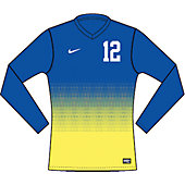 Nike Long-Sleeve Team ID Girl's Custom Soccer Jersey 13