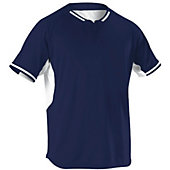 Alleson Youth Two-Button Baseball Jersey
