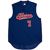 Alleson Youth 2-Button Sleeveless Mesh Jersey