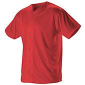 Alleson Men's Full Button Lightweight Baseball Jersey