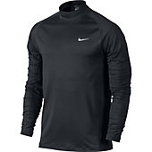 Nike Men's TW Dri-Fit Golf Long Sleeve Mock Cover Up Shirt