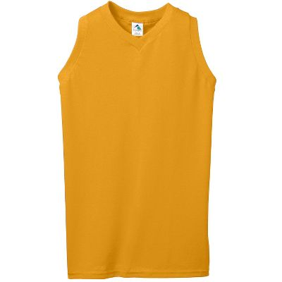 Augusta Women's V-Neck Poly Cotton Jersey