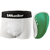 Mueller Pee Wee Athletic Support Short with Flex Field Cup