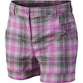 Nike Girl's Dri-FIT Tartan Golf Shorts
