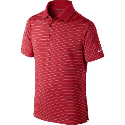 Nike Victory Stripe Boys' Golf Polo