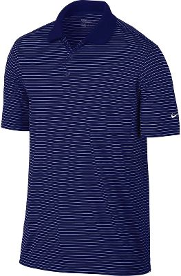 Nike Victory Stripe Golf Polo - Mens - College Navy