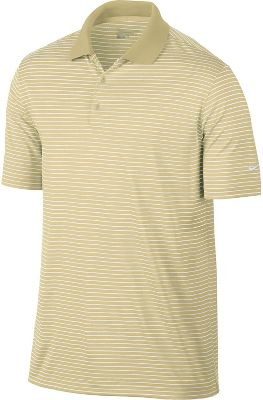 Nike Victory Stripe Golf Polo - Mens - Team Gold