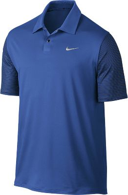 Nike Men's TW Performance Graphic Golf Polo